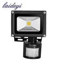 4pcs Sensor Flood Light LED PIR Motion Sensor Light AC85 265V LED Motion Sensor Light Outdoor