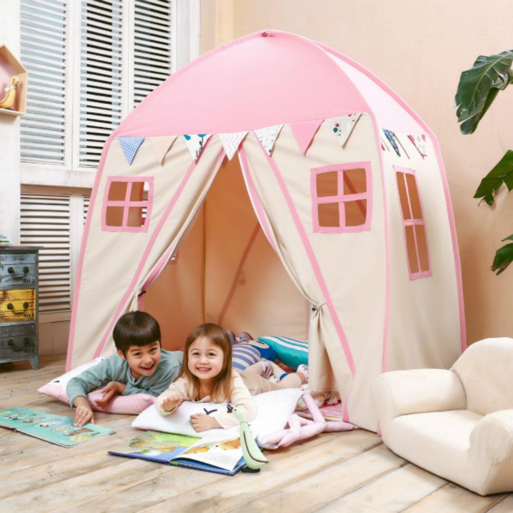 love tree kid play house cotton canvas indoor children. Black Bedroom Furniture Sets. Home Design Ideas