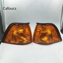 Желтый угловые фары включить сигнал ясно Сторона лампа для BMW E36 3 серии 325i 320i 318i 1992-1999 для BMW M3 1997 1998