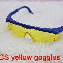 2 шт желтые линзы zengguang gogglse светящиеся защитные очки выдвижные очки Рабочая