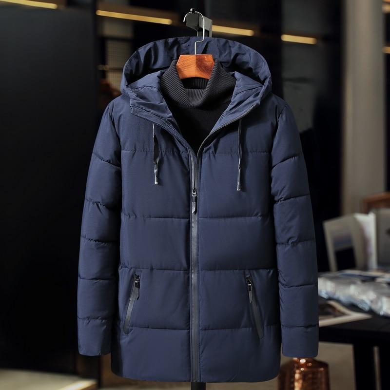 55515ce7562 plus Size 3XL 9XL men Cotton Padded Jacket Autumn Winter Men Casual Thicken  Warm Windbreak Outwear Hooded Varsity Coat