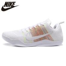 6724c2b3a46 Nike Kobe 11 Elite bajo 4KB zapatos de baloncesto de los hombres al aire  libre zapatillas de deporte blanco transpirable resiste.