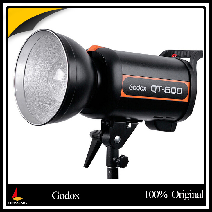 Godox QT-600 QT600 600W Studio Strobe Photo Flash Light Lamp 600WS for Portrait Fashion Wedding art Photography free shipping