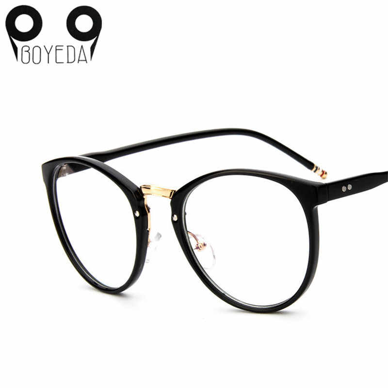 490c294ef58 Detail Feedback Questions about BOYEDA Brand Vintage Round Eyeglasses Frame  New Fashion Female Grade Glasses for Women Myopia Eye Glasses Frame Optical  ...