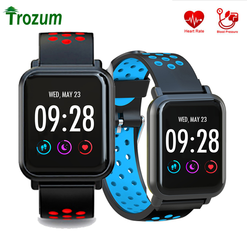 TROZUM S9 Smart Watch 2.5D Screen Gorilla Glass Blood oxygen Blood pressure BRIM IP68 Waterproof Activity Tracker Smart BandTROZUM S9 Smart Watch 2.5D Screen Gorilla Glass Blood oxygen Blood pressure BRIM IP68 Waterproof Activity Tracker Smart Band