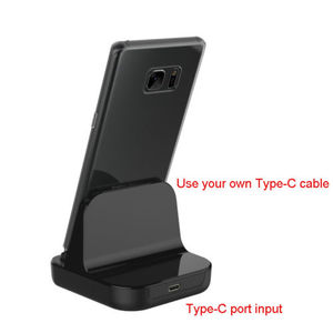 Image 4 - 1pcs  Type C Dock Charger Charging Desktop USB C 3.1 Cradle Station For Android Phone  5V 2A FOR  Type C smartphones