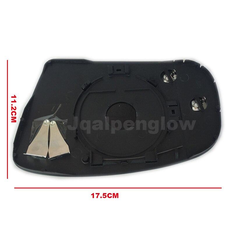 Espejo CONVEX Ala Vidrio Para Mercedes Clase C W203 2000-2007 calentada izquierda #E010