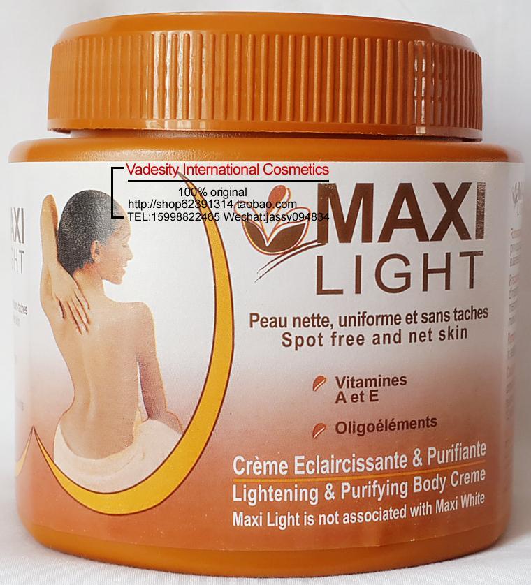 maxi light lightening purifying body creme 350ml