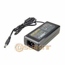 DSLRKIT Adaptador de fuente de alimentación de 24V, 3A, 72W, CA 100 240V a CC 5,5mm x 2,5mm/5,5mm x 2,1mm