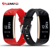 2017 LEMFO S2 Bluetooth Smart Band Wristband Heart Rate IP67 Waterproof Smartband Bracelet For Android IOS