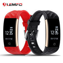 2017 LEMFO S2 Bluetooth Smart Band Wristband Heart Rate IP67 Waterproof Smartband Bracelet For Android IOS Phone