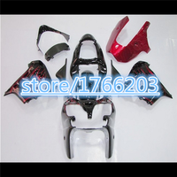Red black For KAWASAKI NINJA ZX 9R ZX9R Red flames black 00 01 ZX 9R 9 R ZX9 R 00 01 2000 2001 Fairing