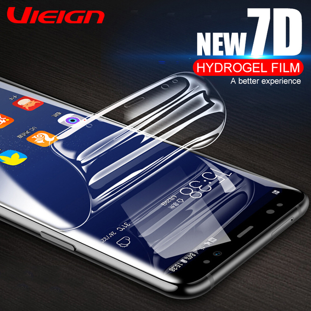 Full Cover Soft Hydrogel Film For Samsung Galaxy Note 8 9 S8 S9 S10 Screen Protector For Samsung S9 S8 S7 S6 Edge Plus Not Glass