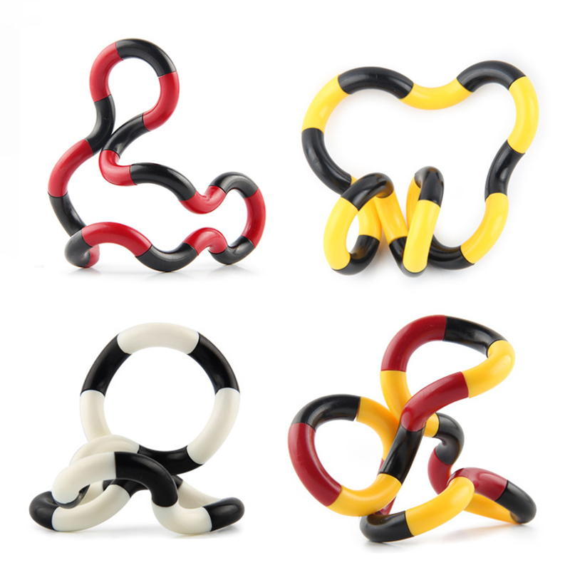 Stress Relief Toy Leadingstar Amazing Flow Ring Toys Kinetic Spring Toy Spinner Stainless Steel Bracelet Funny Game Intelligent Toy Zk25