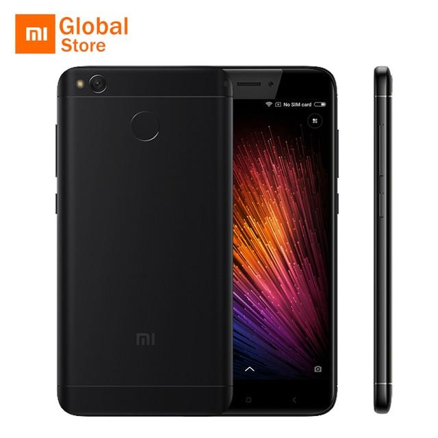 """Официальный Глобальный ROM Xiaomi Redmi 4X мобильный телефон 3 ГБ Оперативная память 32 ГБ Встроенная память 4 x Snapdragon 435 Octa core 5.0 """"13.0MP 4100 мАч смартфон"""