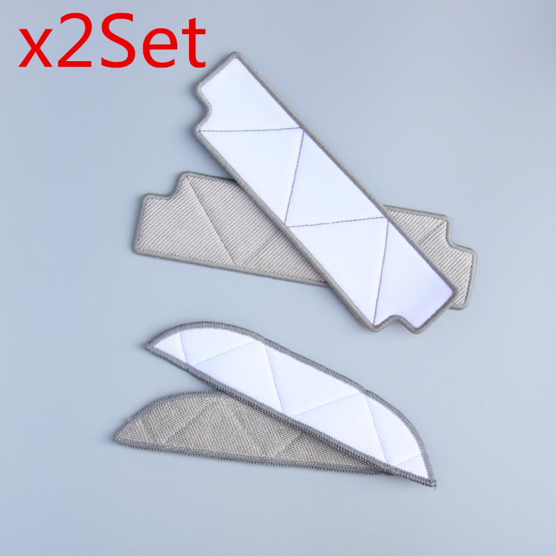 2set Mopping Cleaning cloth Dishcloth dishrag For Ecovacs Winbot W710 W730 TBW60TG TBW61 WRN60 WRN70 Replacement parts