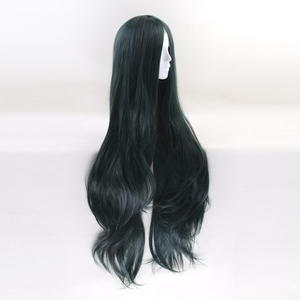 Image 4 - 100cm Korekiyo Shinguji Danganronpa V3: Killing Harmony Cosplay Wig Long Wavy Heat Resistant Synthetic Costume Party Wigs