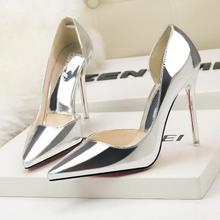 73b801e532 Buy silver heel and get free shipping on AliExpress.com