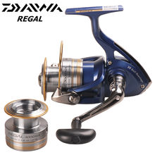 c77f5f32e43 Original DAIWA REGAL 2000/2500/3000/4000XIA 5.3:1/11BB Spinning Fishing Reel  Two Metal Spool Saltwater Lure Reels Moulinet Peche