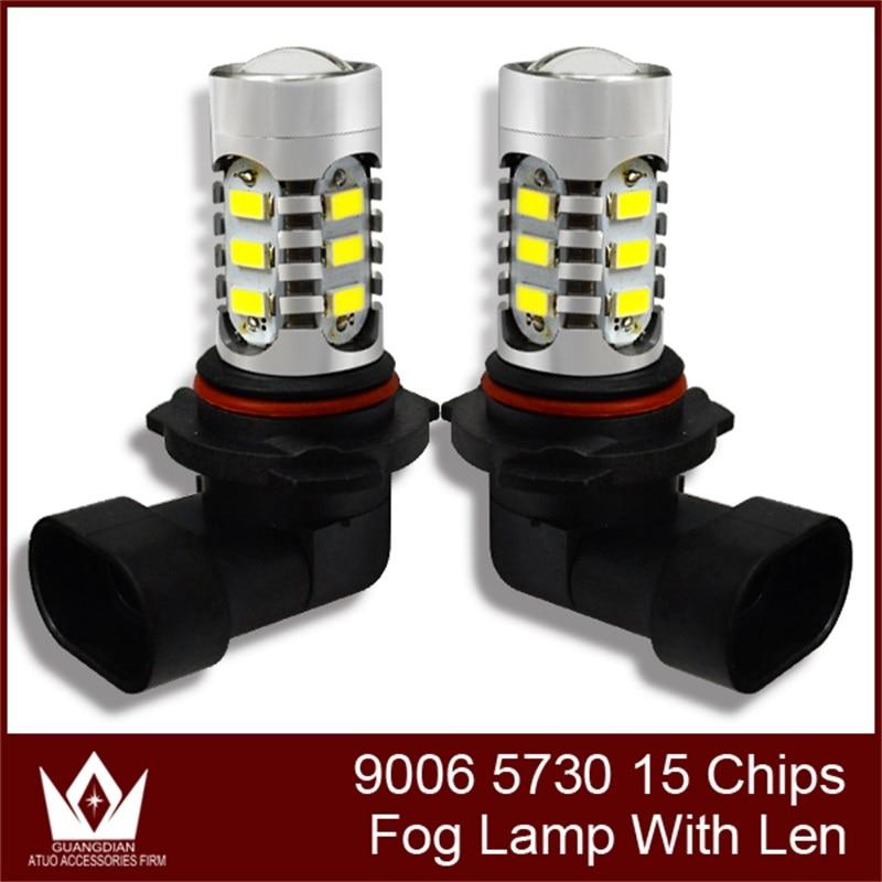 GuangDian 1 bulb Car led light foglamp Foglight Fog light Fog lamp super bight car styling 9006 HB4 5730 15smd 7.5w For Suzuki highlight h3 12w 600lm 4 smd 7060 led white light car headlamp foglight dc 12v