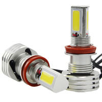 2PCS hot 90W 9000LM Car Driving LED Headlight Bulbs Kit H7 360 Degrees Hi/Lo Beam Lamp with Ballast white 6000K hot selling
