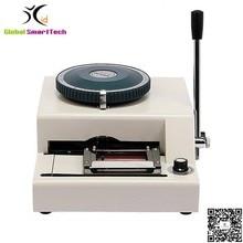 Руководство ПВХ Имя id карты тиснение машина Принтер JX-68C