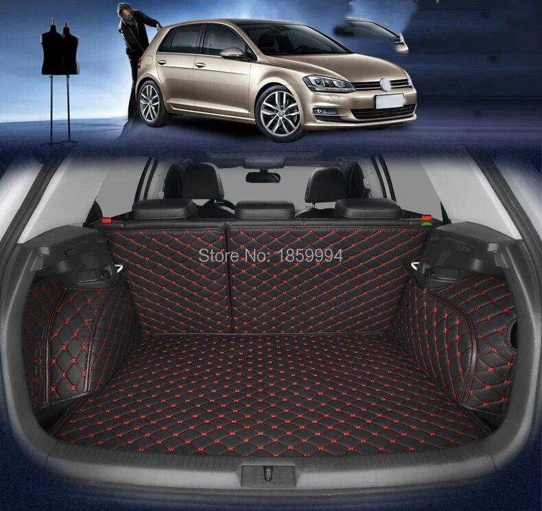 tapis de coffre de voiture durable pour vw golf 7 mk7 tapis de coffre pour arriere de voiture 2014 2019