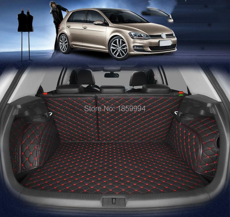 pentru 2014-2019 VW GOLF 7 MK7 spate masina de coada trunchi covoare durabile de boot