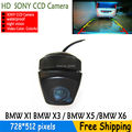 parking rear view camera SONY CCD Night color car reversing backup camera video system with parking lines for BMWX1 X3 X5 X6