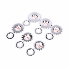 13 T/14 T/15 T/16 T/17 T Fixie Bike Chain Ringen Single Speed fiets Wiel Tandwiel Fixed Gear Fiets Vrijloop Fiets Cogs Fietsonderdelen(China)