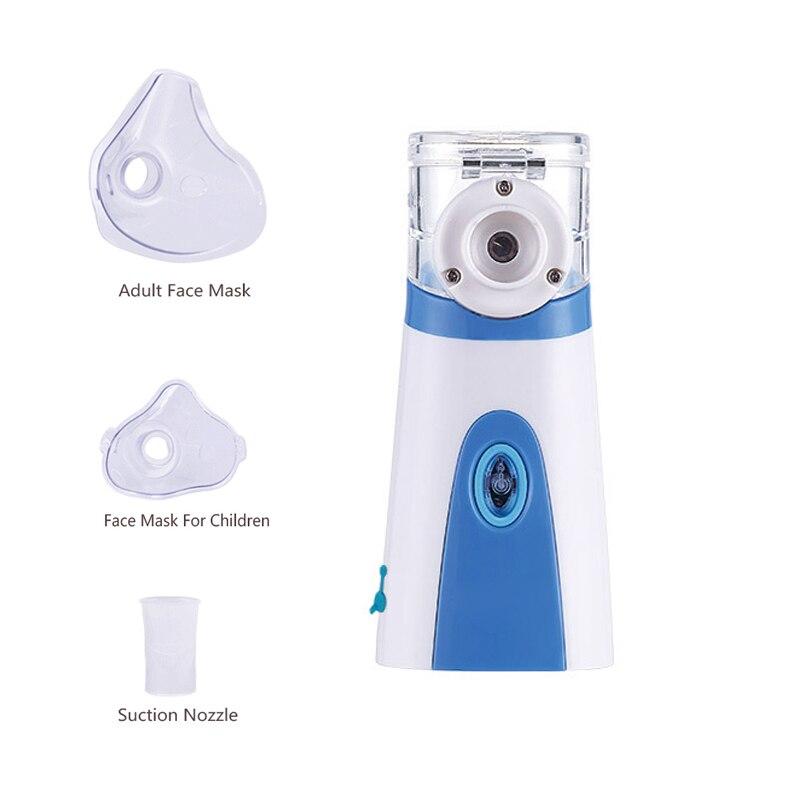 Newest Asthma Atomizer Inhaler Portable Nebulizer Handheld Ultrasonic Mesh Nebulizer For Adult Kid Health Care