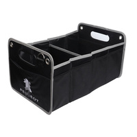Car Trunk Organizer Stowing Tidying Auto Storage Box Bag For Peugeot 307 206 308 407 508 2008 207 208 3008 Interior Accessories