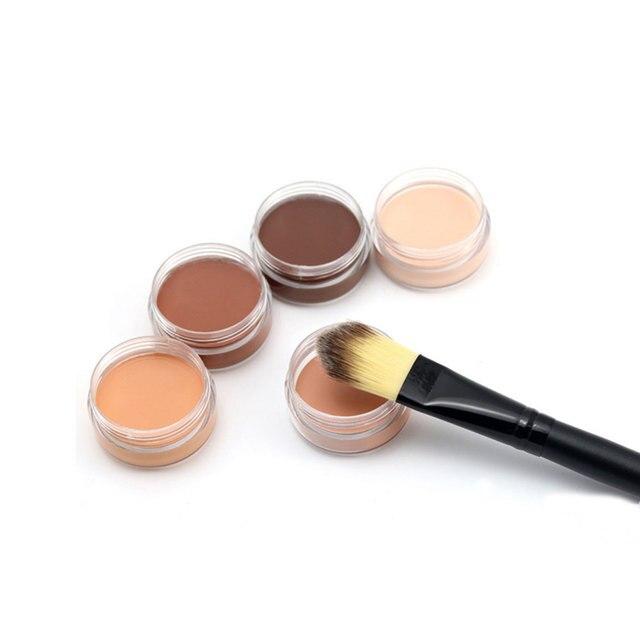 Base Concealer Cream Face Cover Blemish Hide Dark Spot Blemish Eye Dark Circles Lip Contour Makeup Liquid Foundation Cosmetic 3