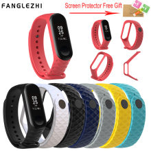 Sport Mi Band 3 Strap Wrist for Xiaomi mi band Silicone Bracelet xiaomi Miband Smart Watch