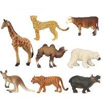 Hollow Animal Model Polar Bear Antelope Home Ornaments Toys Oyuncak Christmas Halloween Gifts Children S Cognitive
