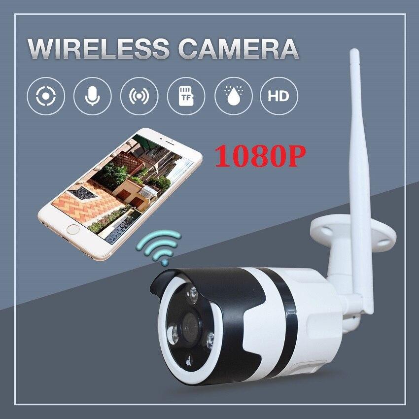Zjuxin 1080P outdoor WIFI Camera use HD 3MP 3 6MM lens 2MP 360 degree Metal waterproof