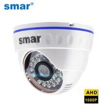 Smar najnowszy Full HD 720P 1080P kamera AHD 24 diody podczerwieni 2.0MP rozdzielczość z obiektywem HD 3.6mm CCTV bezpieczeństwo w domu Night Vision