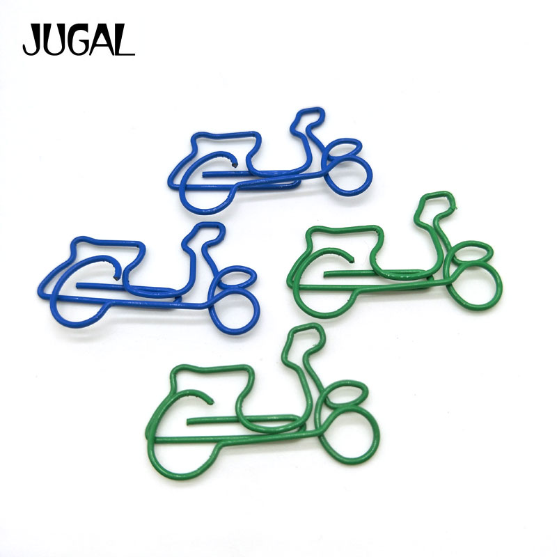 10pcs Mixed Cat Shaped Metal Paper Clips for Notebook Inner Pages Stationary