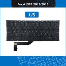 10pcs/Lot Laptop A1398 Keyboard US Layout For Macbook Pro Retina 15″ A1398 Keyboard Replacement 2013-2015 Year