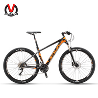 SAVA Mountain Bike Mountain bicycles 27.5 Mountainbike Carbon Bike with SHIMANO DEORE 30 Speeds Bike hydraulic fork Bicycle