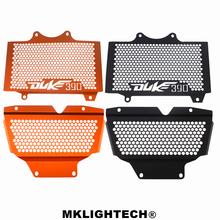 MKLIGHTECH For KTM DUKE390 DUKE 390 2017-2018 Aluminum Motorcycle Radiator Guard Grille Protection Water Tank