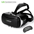 2017 VR Shinecon 2.0 Virtual Reality 3D Glasses Google Cardboard Headset VRBOX For 4.7-6 Inch Smartphone + Bluetooth Controller