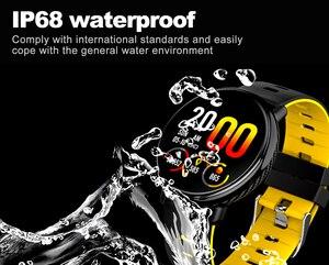 Image 4 - SENBONO K1 Smart Watch Men Women IP68 Waterproof Clock Activity Fitness tracker Heart rate monitor Smartwatch for IOS Android