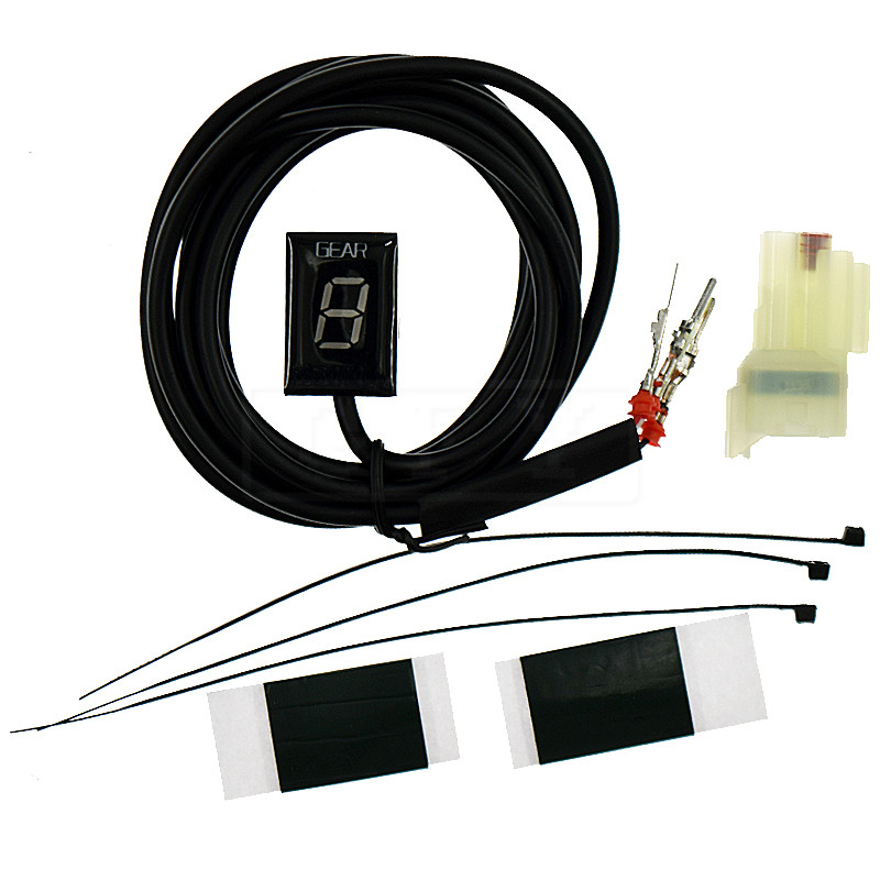 Moto LCD Électronique 6 Vitesse 1-6 Niveau Indicateur de Vitesse Numérique de Vitesse compteur Pour Honda VFR800 VFR 800 2006-2012 2013 CROSSRUNNER