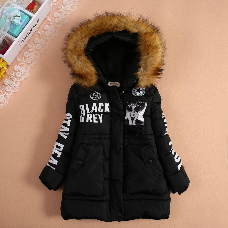 Kadın çocuk orta-uzun pamuk-yastıklı ceket giyim kalınlaşma fermuar kazak giyim çocuk kadın wadded ceket kış