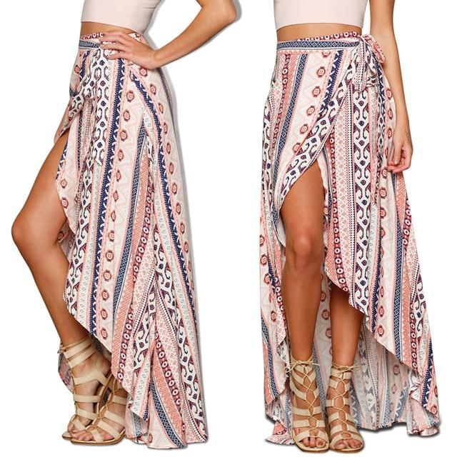 Aliexpress.com : Buy 2017 Summer New Ladies Geometric Long ...