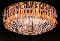 Modern Ceiling Light Luxury Crystal Aluminum Celling Light indoor lighting lamps Crystal K9 LED Lamp Celling Lamps 18*E14 lamps