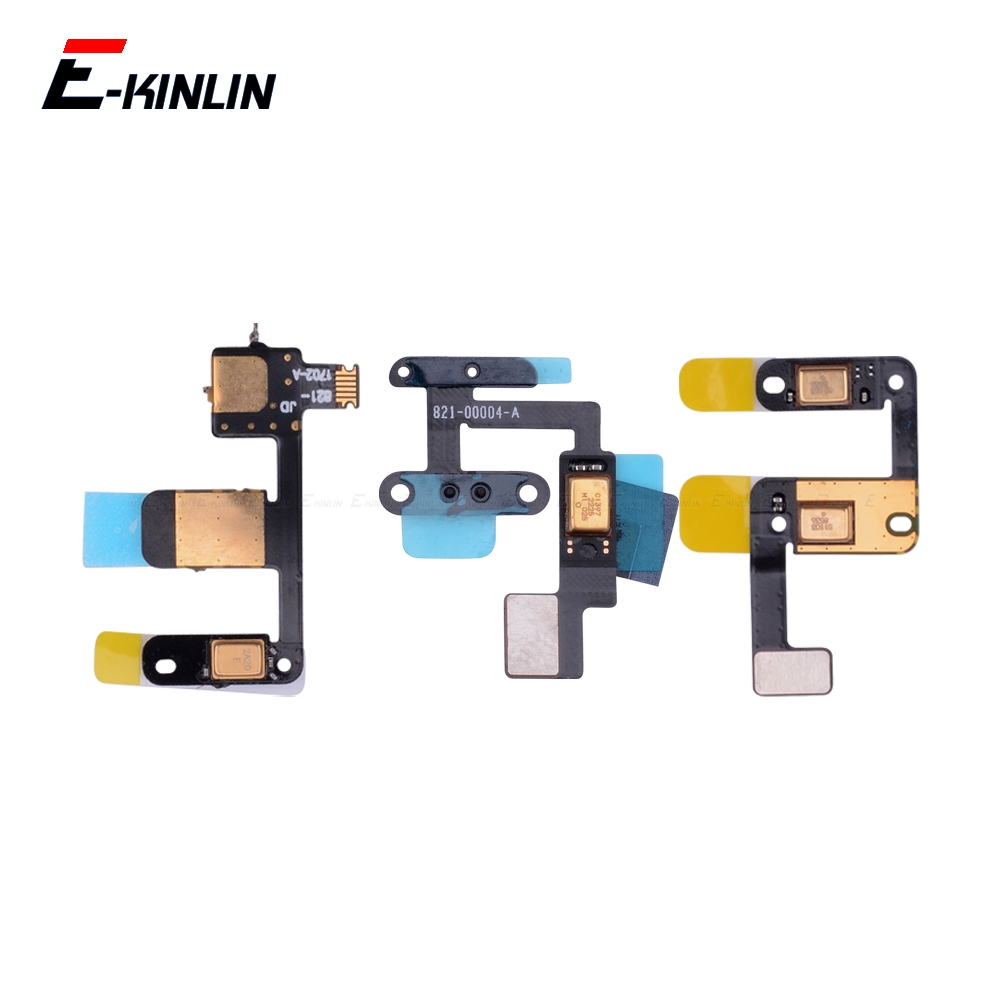 New Speaker Microphone Flex Cable For IPad 4 Air 2019 Mini 2 3 Mic Inner Chip Replacement Parts