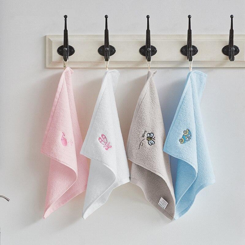 2PCS kids towel 100 cotton face hand hair towel soft baby towels disney children bathroom towels