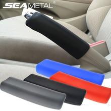 Чехол для автомобильного ручного тормоза, силиконовый гелевый Чехол, противоскользящий стояночный ручной тормоз, Универсальный декоративный чехол, автомобильные аксессуары
